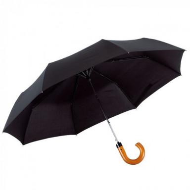 Полуавтоматический мужской складной зонт